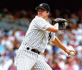 One-Handed Pitcher Jim Abbott