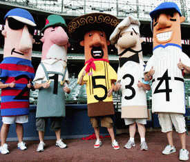 The Milwaukee Brewers Add A New Sausage To Their 7th Inning Sausage Race