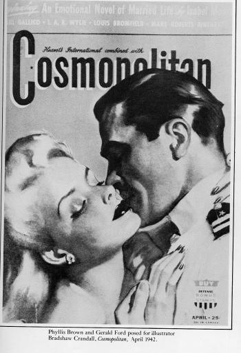 World Premiere: President Gerald Ford On The April 1942 Cover Of Cosmopolitan