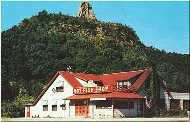The Hot Fish Shop In Winona, Minnesota