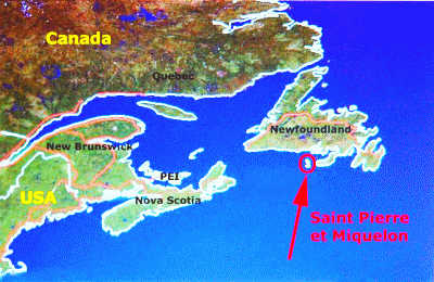 Saint-Pierre and Miquelon: A French Territory Just Off The Coast Of Newfoundland