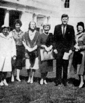 President John F. Kennedy With Hitler Bunker Pilot Hanna Reitsch