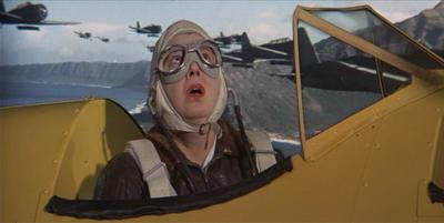 Vivian Vance In Tora! Tora! Tora!: Ethel Mertz Deftly Evades The Entire Japanese Air Force!